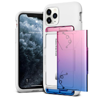 Чехол VRS Design Damda Glide Shield lля iPhone 11 Pro MAX White Pink - Blue