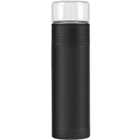 Термос Xiaomi Pinztea Tea Water Separation Cup 300мл Черный