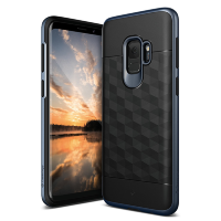 Чехол Caseology Parallax для Galaxy S9 Black / Deep Blue