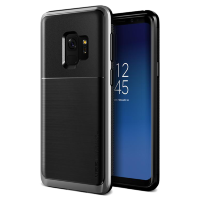 Чехол VRS Design High Pro Shield для Galaxy S9 Steel Silver